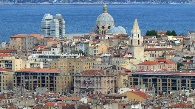 Marseille látképe