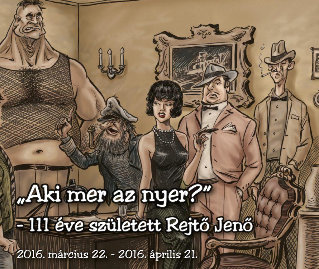 RITKASÁG – Rejtő kisfilm és Rejtő operettek a HDKE-ben!