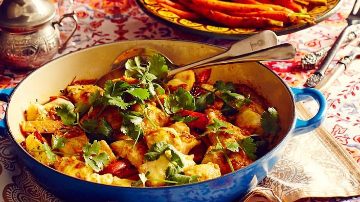 Fűszeres marokkói hal