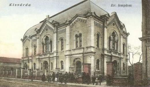 Kisvardai zsinagoga régen