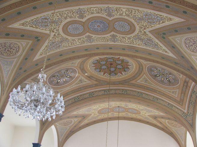 Kisvárdai zsinagóga belső tér