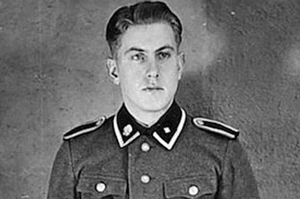 Reinhold Hanning fiatalon, SS-tisztként