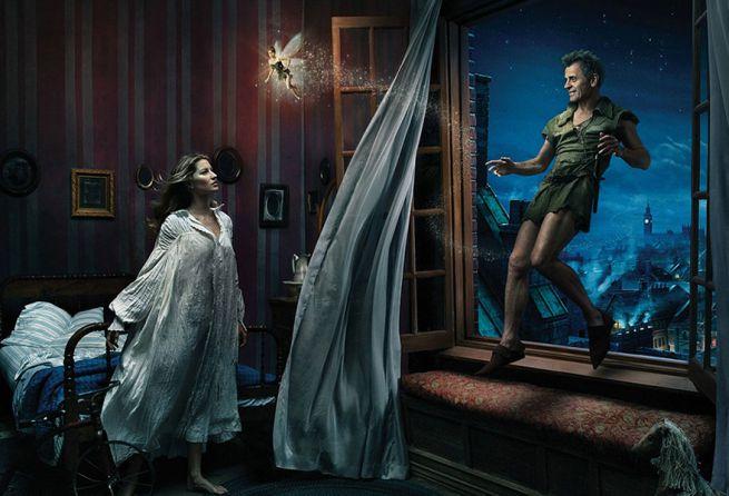 Mikhail Baryshnikov Gisele Bundchen and Tina Fey from Peter Pan