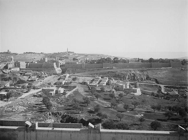 Látkép a Sion hegyről, 1938-ból