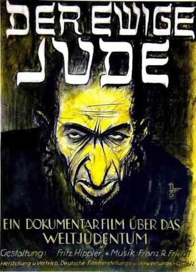 Az örök zsidó plakátja