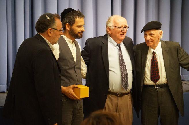 Heisler András, Röhrig Géza, Geiger András és Benedek István Gábor (forrás: BZSH/Szentgyörgyi Ákos)