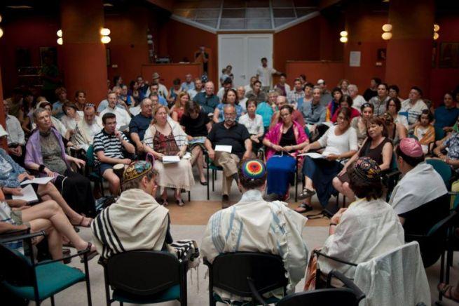 LMBTQ barát zsidó istentisztelet a Bálint Házban