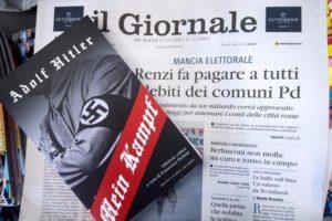 Lapmellékletként osztogatták Milánóban a Mein Kampfot
