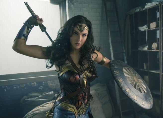 Gal Gadot a Wonder Woman című filmben