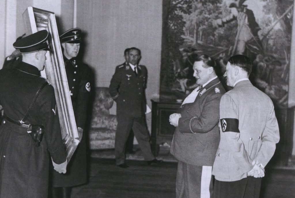 Náciknak is jutott az elrabolt zsidó műkincsekből