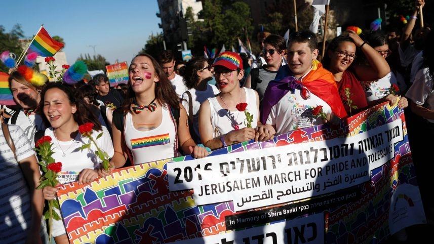 Megtartották Jeruzsálem eddigi legnagyobb melegfelvonulását