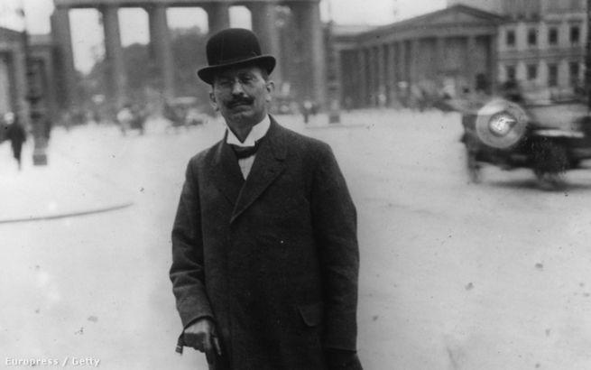 Trebitsch Ignác 1919-ben Berlinben