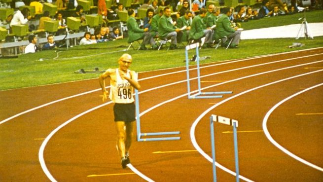 Saul Ladany a müncheni olimpián