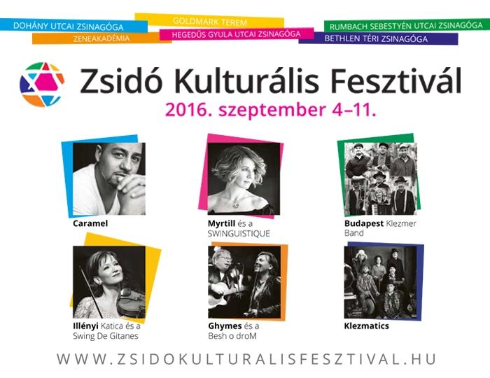 Játssz a Kibiccel, és nyerj jegyeket a Zsidó Kulturális Fesztiválra!
