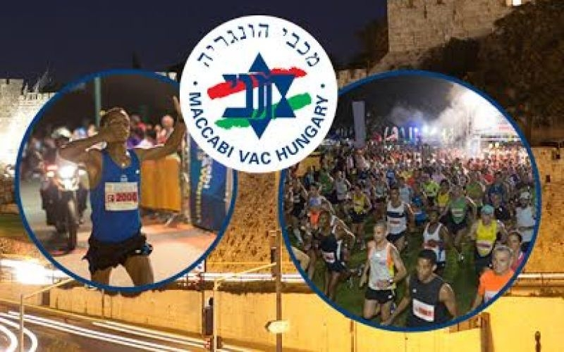 Maccabiah Éjszakai Maraton Jeruzsálemben