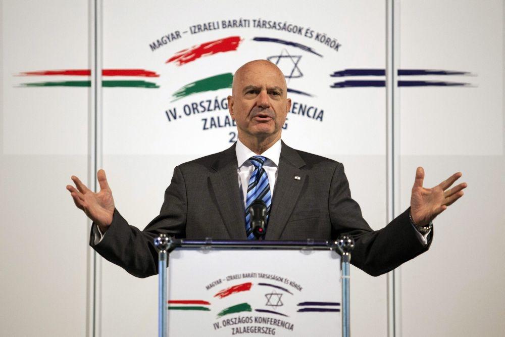 Videóüzenetben búcsúzik az izraeli nagykövet
