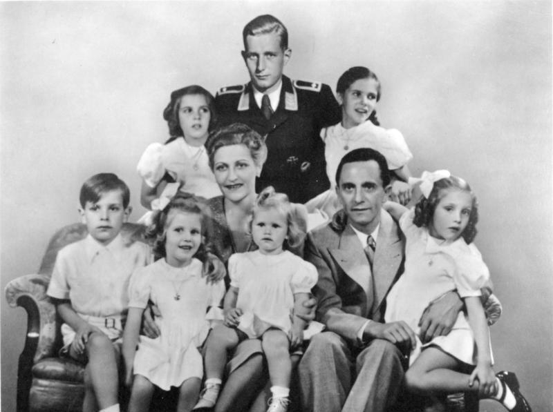 Zsidó apja lehetett Goebbels feleségének