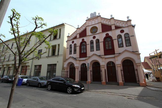 A megújult Pásti utcai zsinagóga Debrecenben