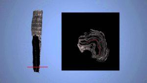A modern technológia segítségével vált olvashatóvá a megsérült ősi tóratekercs