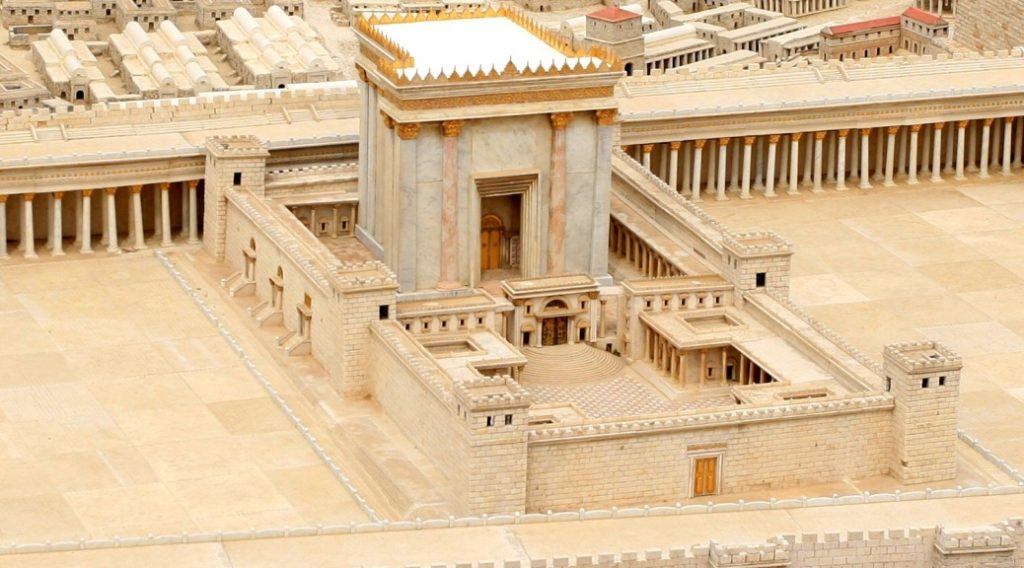 Először kerültek elő építészeti elemek a jeruzsálemi Szentélyből