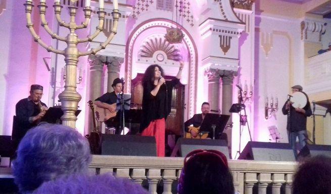 Szefárd Dívák éjszakája a Zsidó Kulturális Fesztiválon