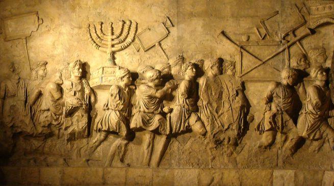 Részlet Titus diadalívéről