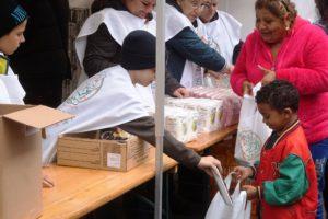 Vallásközi ételosztást tartottak az Élelmezés Világnapján