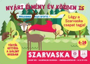 Szarvaska 6-12 éves gyerekeknek a Bálint Házban!