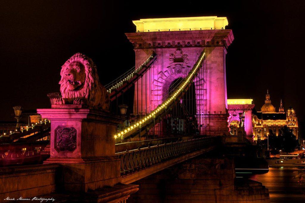Rózsaszín Lánchíd séta – Egészség hídja