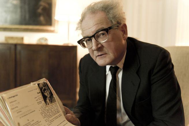 Burghart Klaussner Az állam Fritz Bauer ellen című filmben