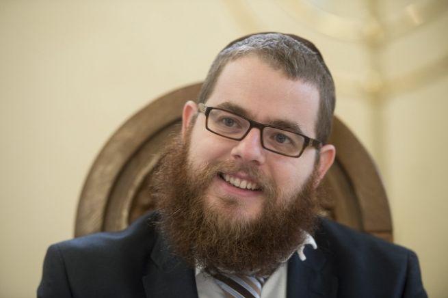 Köves Slomó rabbi (Fotó: Bielik István/Origo)
