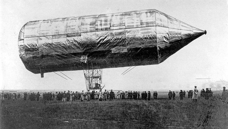 A magyar zsidó, aki feltalálta a Zeppelint