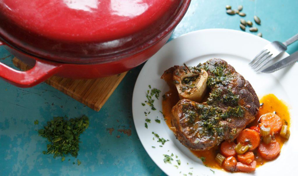 Sábeszi recept: milánói borjúcsülök