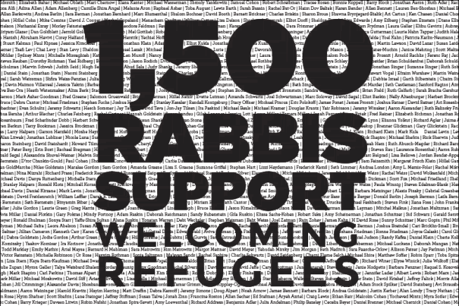 Több mint 1500 rabbi írta alá