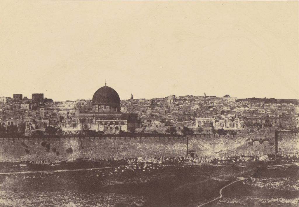 Ilyen volt Jeruzsálem a 19. század közepén