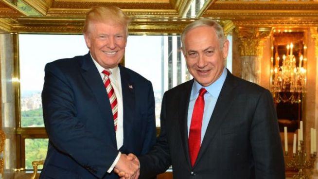 Trump és Netanjahu