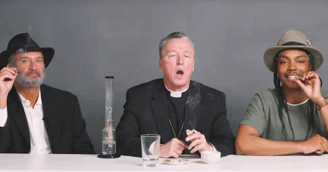 Jim Morel rabbi, Chris Schuler atya és Carlos Diller