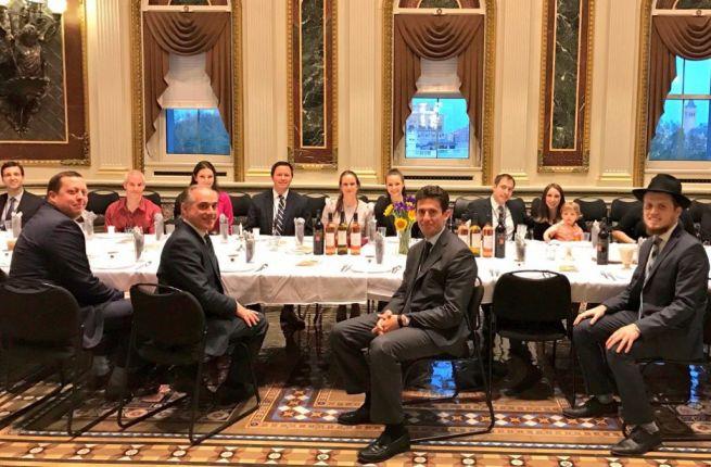 Széder este a Fehér Házban Trump elnöksége idején