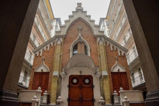 A Frankel zsinagóga bejárata (Fotó: Gyulai Szilvi/Budapest100)
