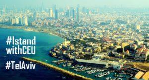 Tel-Avivban is tüntetni fognak a CEU mellett