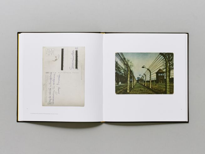 Részlet az Üdvözlet Auschwitzból című könyvből (Fotó: maimanohaz.blog.hu)
