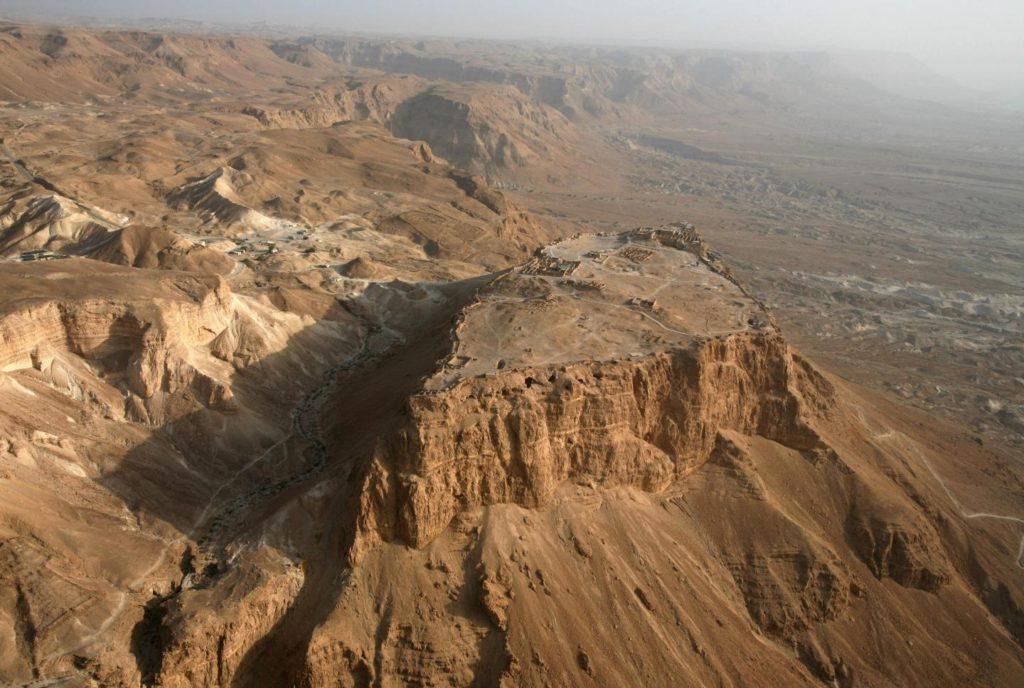 Donald Trump nem látogat el a Maszadára, mert nem szállhat le rajta helikopterrel