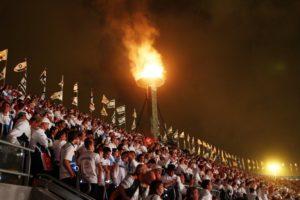 Olimpiai bajnokok viszik a lángot a Maccabi Világjátékok megnyitóján