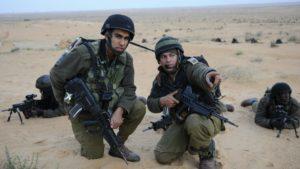 Az izraeli hadsereg muszlim katonái a ramadán idején is teljesítették kötelességüket