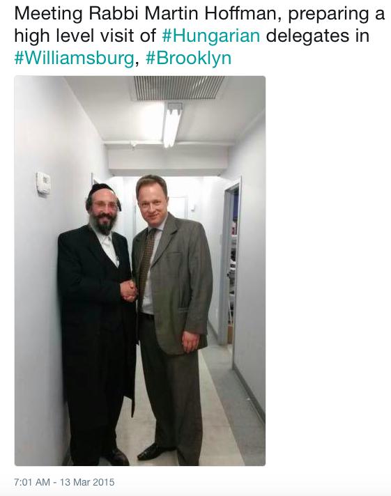 Rabbi Martin Hoffman és Kumin Ferenc