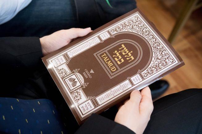 Az új Talmud-fordítás (Fotó: Koszticsák Szilárd/MTI)