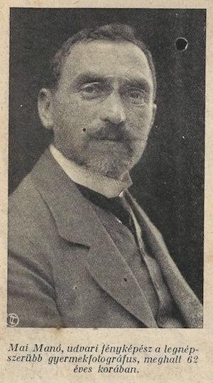 Mai Manó 1917-es halálhíre egy korabeli újságban