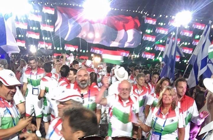 Áder Jánossal súlyosbítva vonult be a magyar csapat a Maccabi Világjátékok megnyitójára