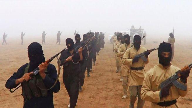 Az Iszlám Állam harcosai