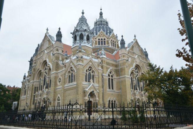 A felújított szegedi zsinagóga (Fotó: Frank Yvette/delmagyar.hu)